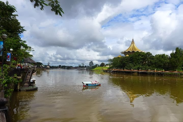 Fluss in Kuching